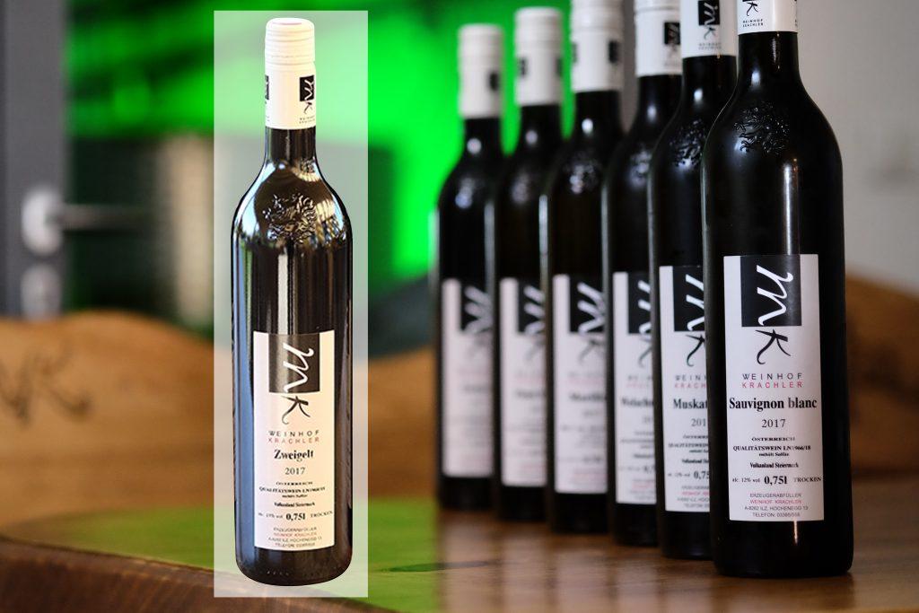 Weine vom Weinhof Krachler